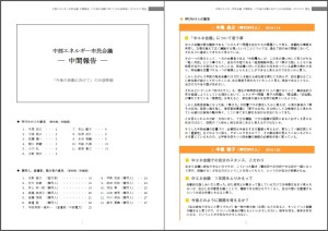 中エネ会議 中間報告(「今後の活動に向けて」のみ抜粋版)2014.4.21現在